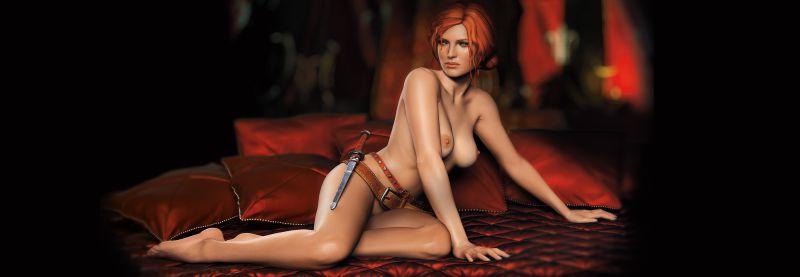 Рыженькая Трисс Меригольд во всей красе