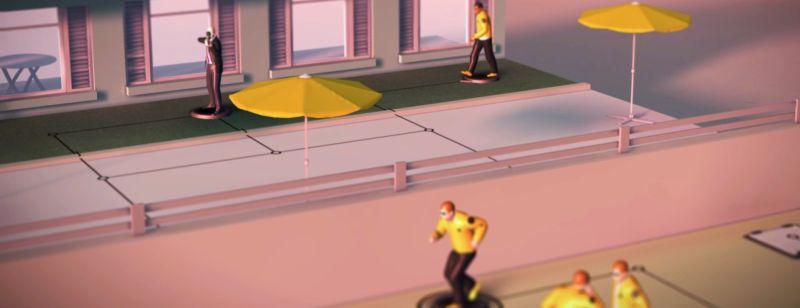Hitman GO: Definitive Edition скриншот