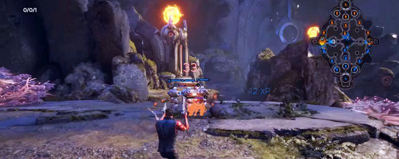 В игре Paragon можно использовать различные тактические ухищрения