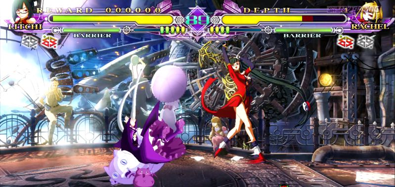 BlazBlue: Chronophantasma Extend скриншот