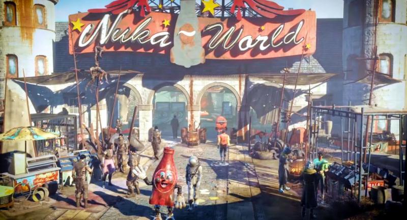 Nuka-World скриншот