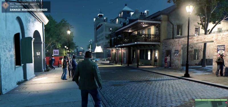 Mafia 3 скриншот геймплея