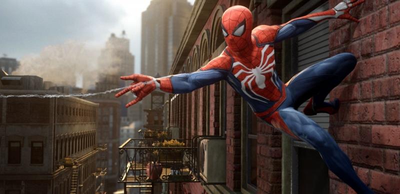 Spider-Man PS4 скриншот