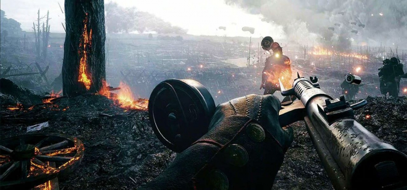 Battlefield 1 скриншот геймплея