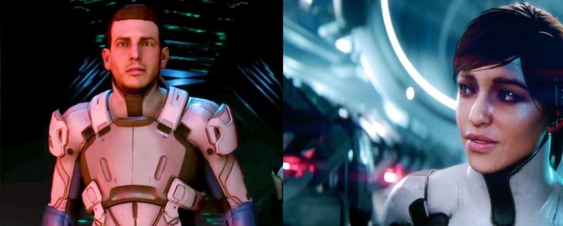 Mass Effect Andromeda родственники