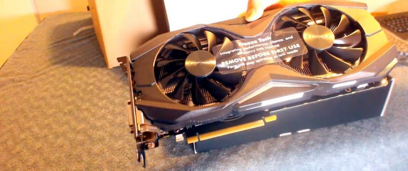 ZOTAC GeForce 1070 GTX кулеры