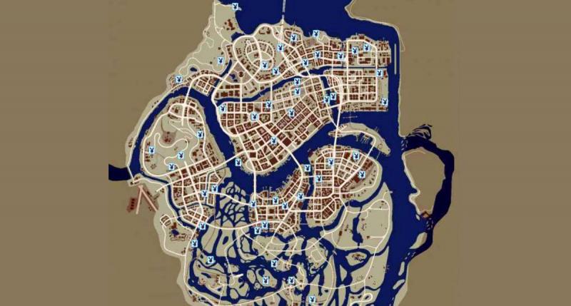 Карта с журналами