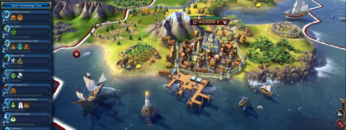 тактика в цивилизации 5 тактика