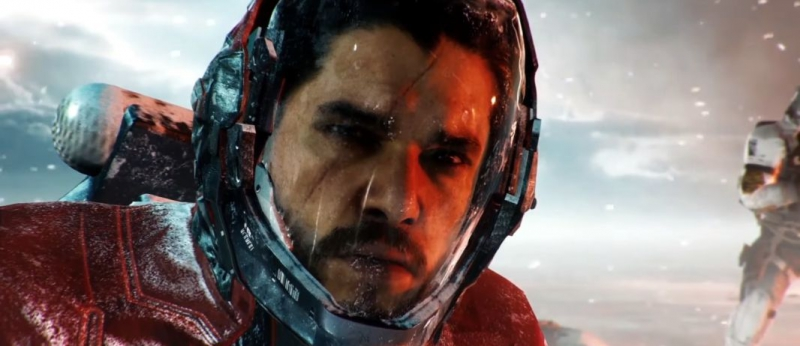 Кит Харингтон - главный злодей в игре Call of Duty: Infinite Warfare