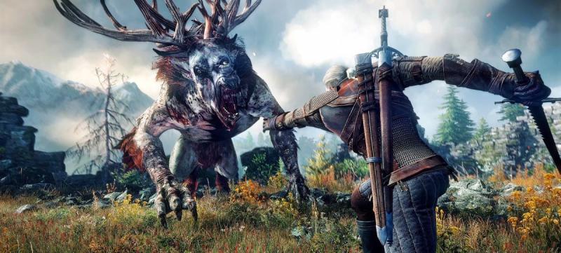 Кадр из игры Ведьмак 3 от CD Projekt RED