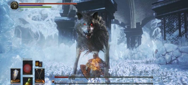Волк Стража могил