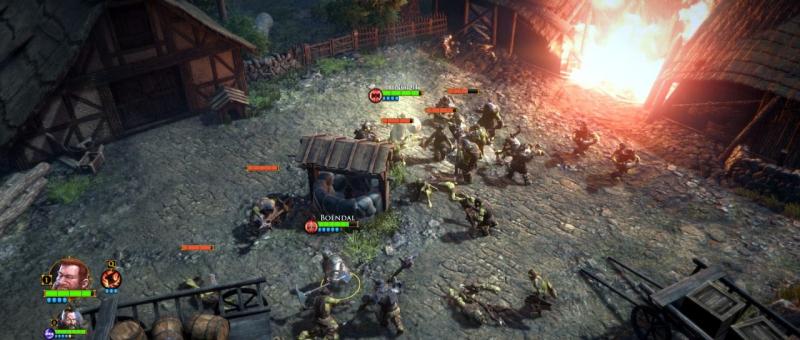 Битва в деревне