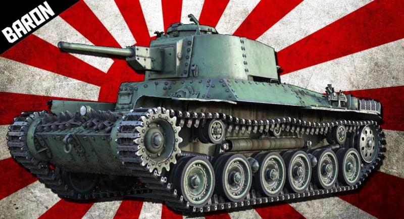 War Thunder танк Барон