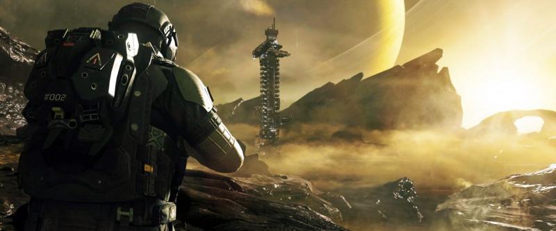 Красивые инопланетные пейзажи