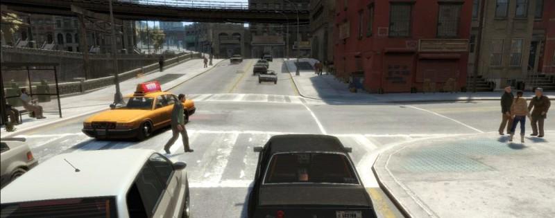 GTA IV на движке RAGE