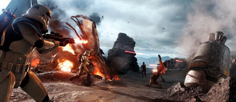 Star Wars Battlefront обладает потрясающей графикой