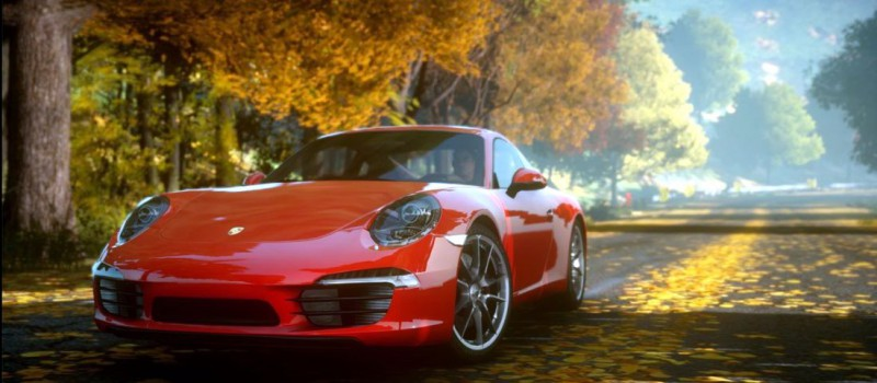 Porsche в Need for Speed The Run