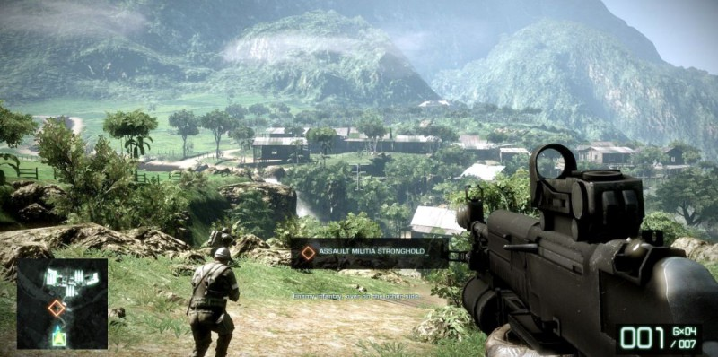 Battlefield Bad Company 2 скриншот