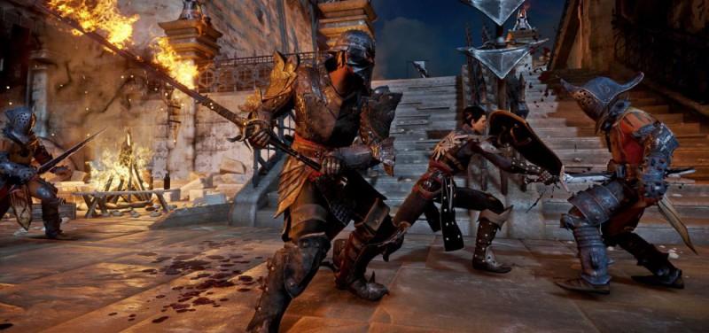 Dragon Age Inquisition бой