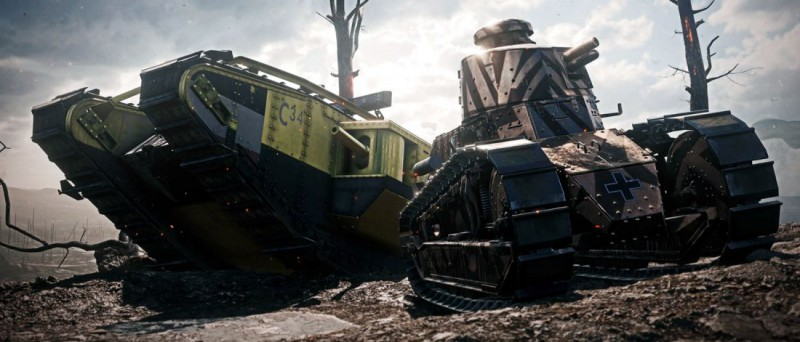Battlefield 1 танки Первой мировой