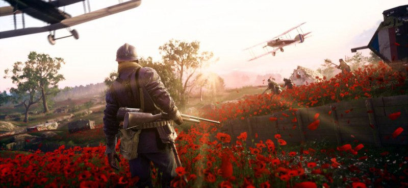 Battlefield 1 битва на маковом поле
