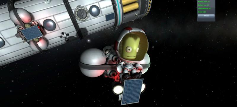 Kerbal Space Program и зеленые человечки
