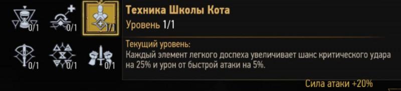 Техника Школы Кота