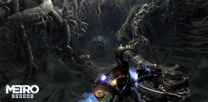Подземелье в Metro Exodus