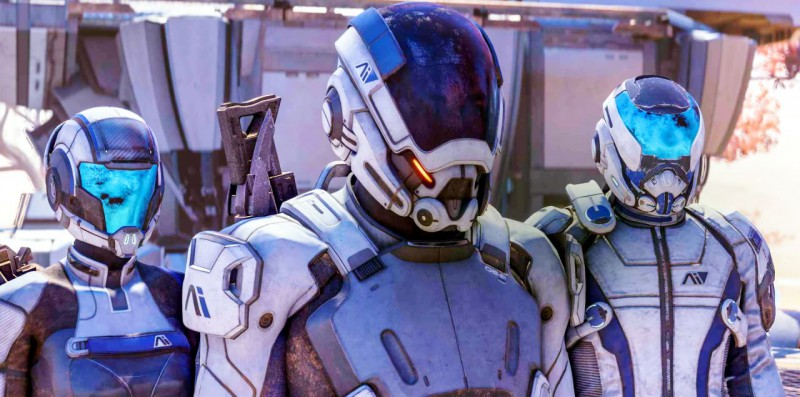 Mass Effect Andromeda скриншот