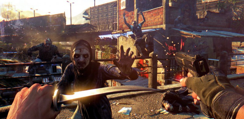 Скриншот из игры Dying Light
