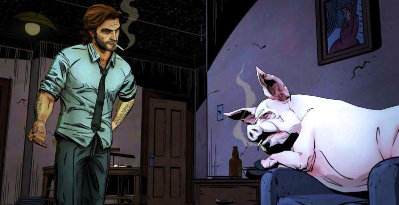 Скриншот The Wolf Among Us 2 season