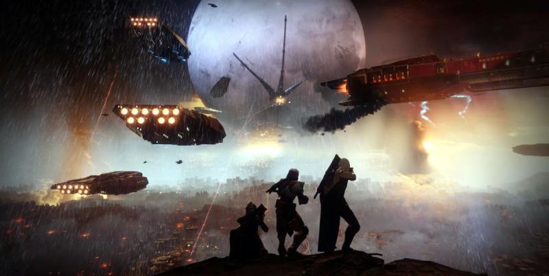 а Скриншот игры Destiny 1