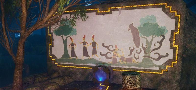 Очередная фреска с кусочком истории