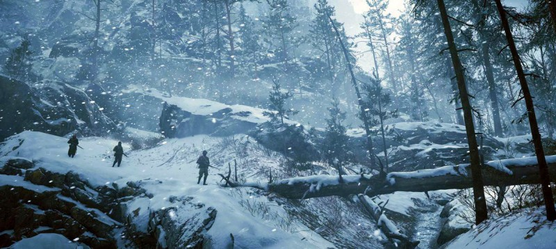 Во имя царя в снежный лес