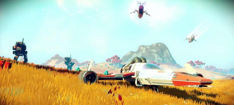 Скриншот игры No Man's Sky
