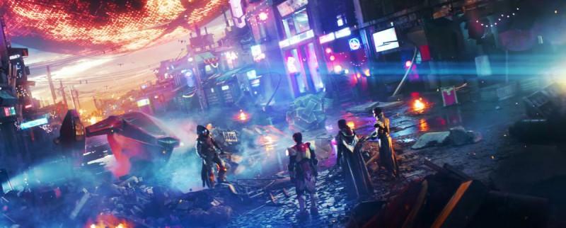 Скриншот из трейлера Destiny 2