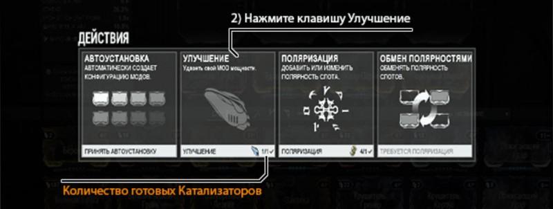 Установка катализатора