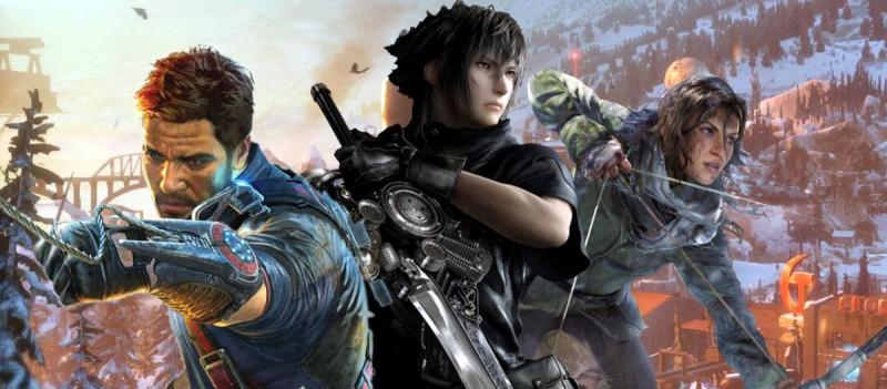 Герои однопользовательских игр Square Enix