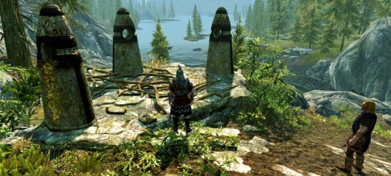 Три камня-хранителя