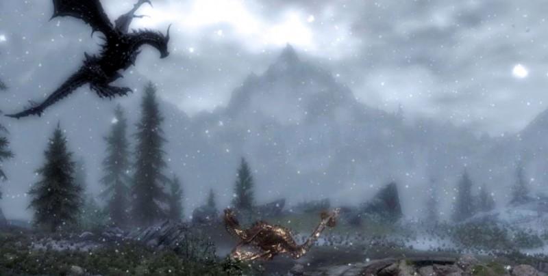 Дракон в буране