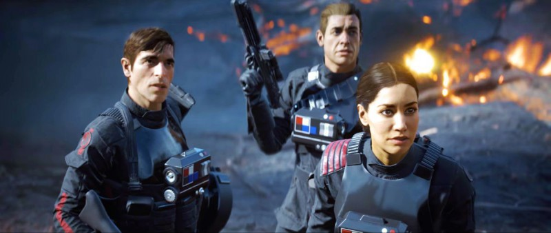 Герои Star Wars Battlefront 2