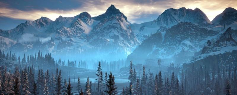 Леса и горы новых локций