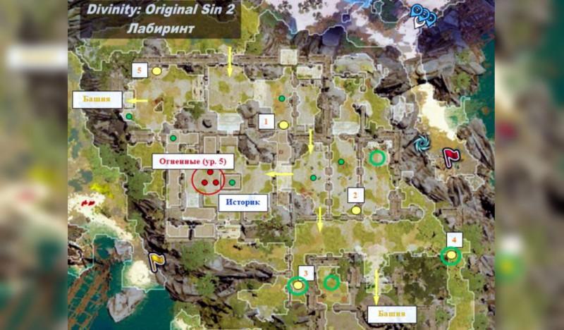 Карта Лабиринта