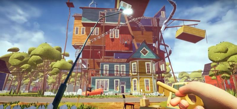 Скриншот игры Hello Neighbor