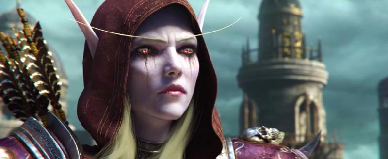 Темная эльфийка во всей красе