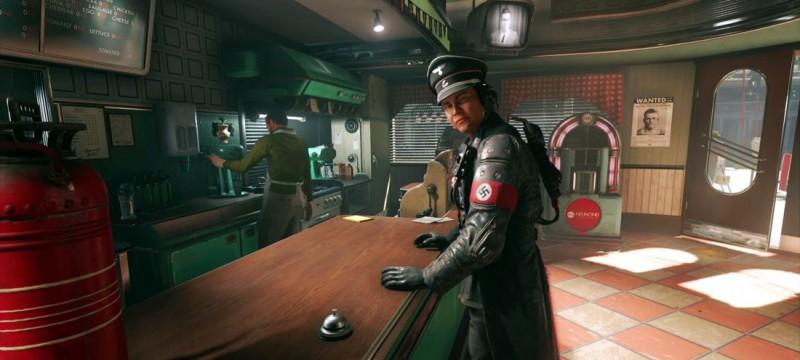 Офицер в баре