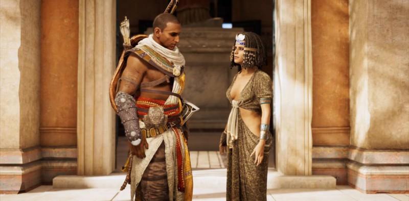 Клеопатра поручает убить Скорпиона и Шакала