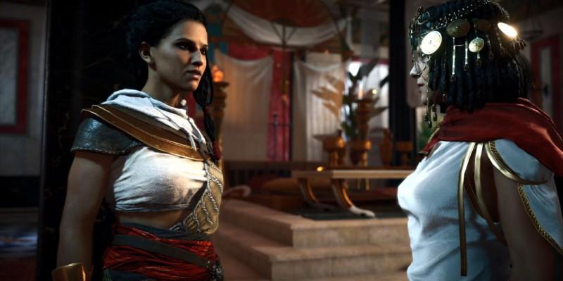 Айя заставляет Клеопатру вернуться в Египет