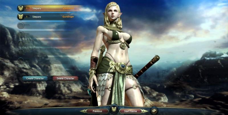 Персонаж из игры Kingdom Under Fire 2