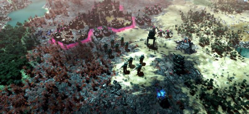 Скриншот игры Gladius Relics of War